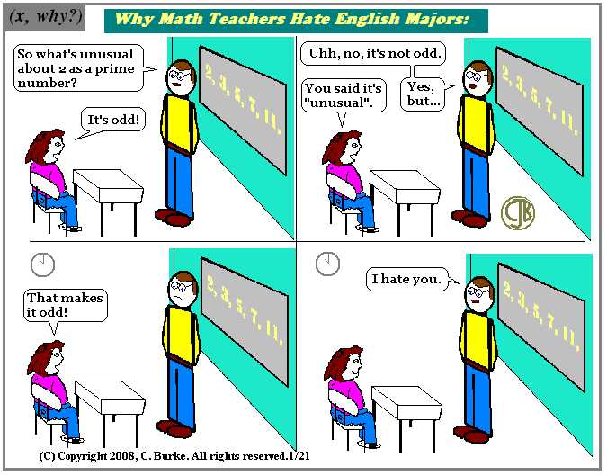 English majors.